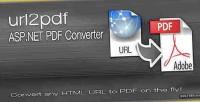 Asp.net url2pdf pdf converter