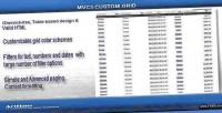Custom mvc3 grid