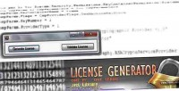 Generator license 1 license 1 pc