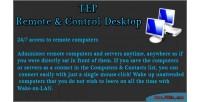 Remote tep control desktop
