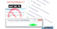 Thread basic manager