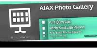Infinite ajax photo gallery