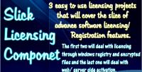 Licensing slick component