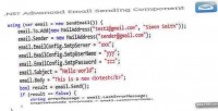Advanced .net component sending email