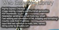 Essentials web library