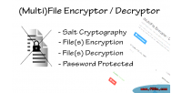 File multi encryptor decryptor