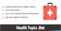 Health topics .net bilingual api topic health