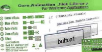 Library core.animation for controls winforms .net