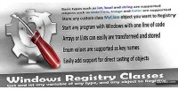 Registry windows classes
