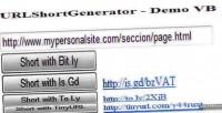 Short url generator