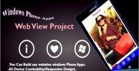 Phone windows apps project view web