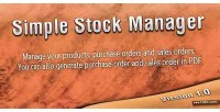 Stock simple manager
