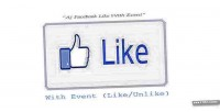 Facebook aj event with like