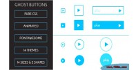 Animated css3 ghost buttons