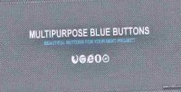 Blue multipurpose buttons