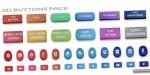 Buttons 3d pack