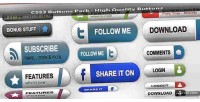 Buttons css3 pack