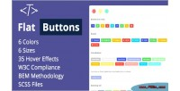 Buttons flat options multipurpose modern