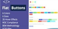 Buttons flat options multipurpose modern