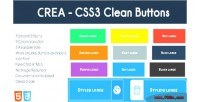 Css3 crea clean buttons