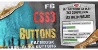 Fb css3 buttons facebook buttons alike look