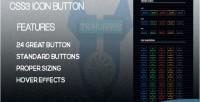 Icon css3 button