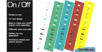 On css3 off effect buttons switch