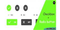 Radio checkbox button