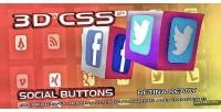 Retina social3d buttons css ready