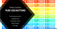 Solution perfect buttons css3 pure