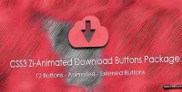 Zi css3 animated package buttons download