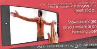 Animated css3 image slider