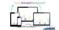Animated travel background