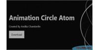 Animation background circle