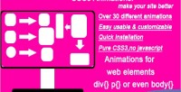 Animations css3 38 effects different javascript without