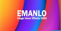 Awesome emanlo css3 effects hover image