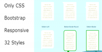 Bubbles css & tooltips