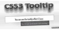 Css3 full tooltip