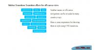 Css3 payal sidebar menu