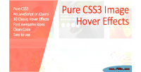 Css3 pure effects hover image
