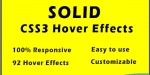 Css3 solid effects hover image