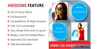 Css3 viavi hover effects