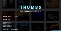 Image thumbs hover effects