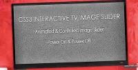 Interactive css3 slider image tv