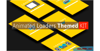 Loaders animated themed kit