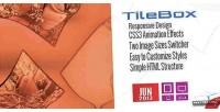 Modern tilebox css lightbox responsive