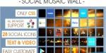 Mosaic social wall