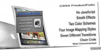 Product css3 folio mapping image with