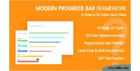 Progressbar css3 framework
