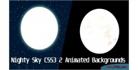 Sky nighty animated backgrounds